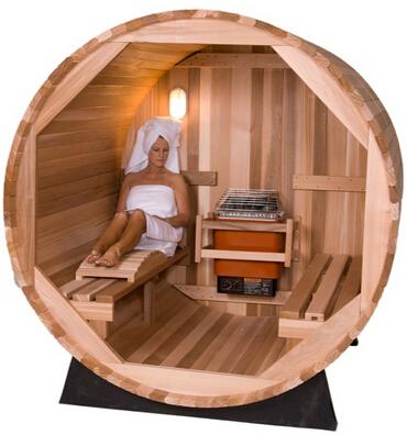 Best barrel sauna kit review top rated barrel sauna for sale for Barrel cabin plans