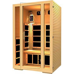This Outstanding Infrared Sauna Comes With 7 Far Carbon Fiber Heaters Found At The Side Calf And Back Which Maximize Heating Areas