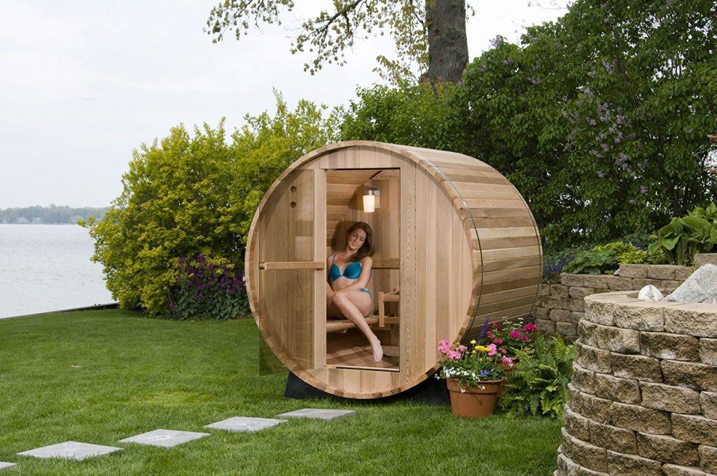Best Infrared Cabin Sauna Reviews Hot Sale Garden Log Cabin